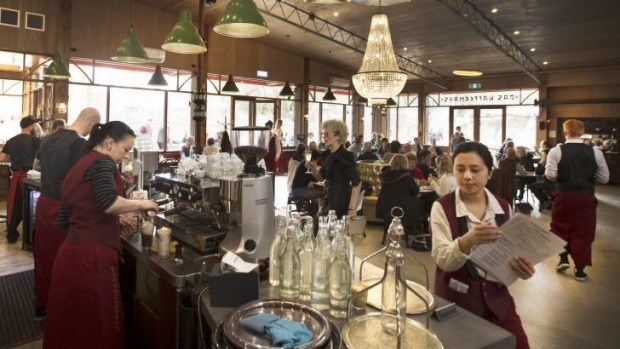 The Old Castlemaine Woollen Mill reborn as food precinct