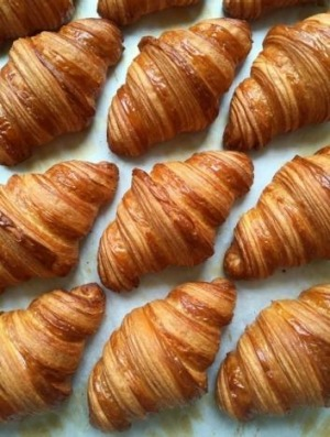 The croissants at Lune in Elwood.