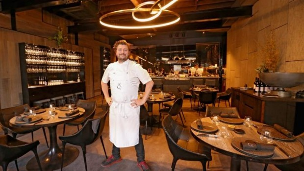 Chef Scott Pickett in his new degustation-only restaurant.