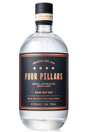 Four Pillars Rare Dry Gin for Huon Hooke's July 21 Wine Guide.
