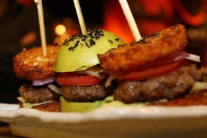 'Designer Sliders' at One Tea Lounge and Grill.