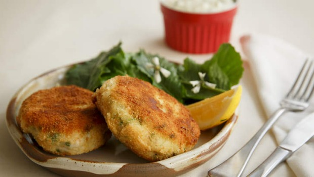 Ling and horseradish fishcakes Recipe Good Food