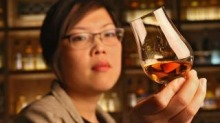 "Nant Whisky Bar manager Evelyn Liong says whisky's appeal cuts across gender - ""There have always been plenty of women ..."