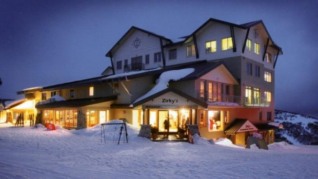 Zirky's ski lodge at Mount  Hotham.