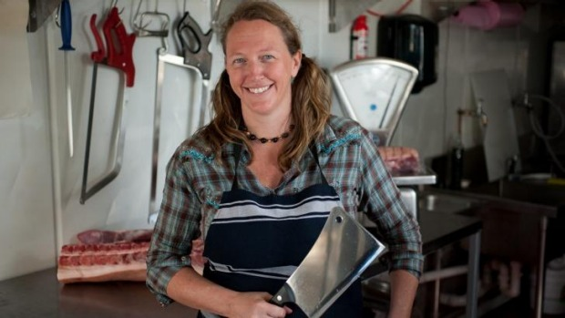 Tammi Jonas says PrimeSafe inspectors threaten prosecution if butchers don't co-operate.