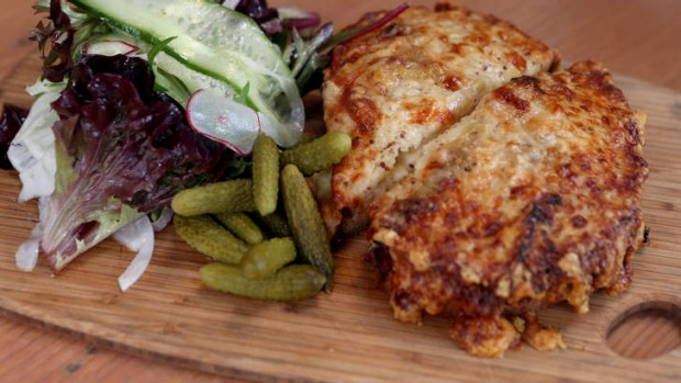 The cafe's croque-monsieur has a cult following.