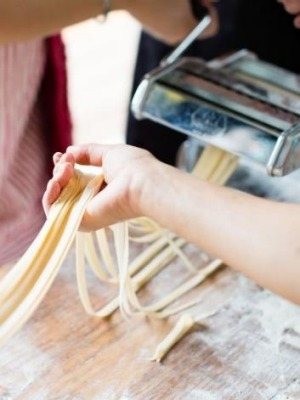 Pasta-making workshops are part of the Passata Day.