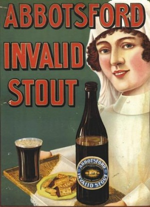 Abbotsford Invalid Stout was spruiked as having medical benefits.
