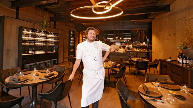 Luxe: Chef Scott Pickett inside his eponymous restaurant.