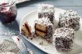 Popular idea: A plate of lamingtons