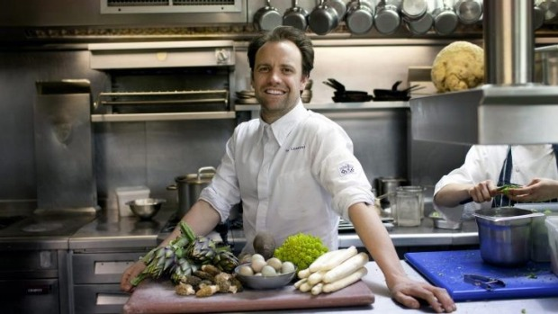 Brett Graham at the Ledbury restaurant in London.