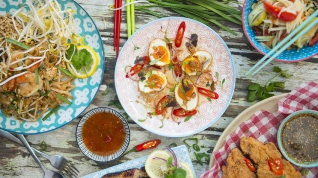Colourful: Jazzed-up Thai classics at Son in Law.