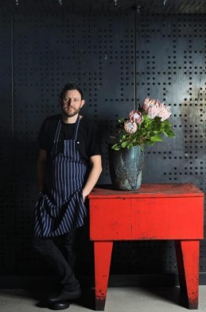 Chef Sean McConnell of Monster Kitchen and Bar.