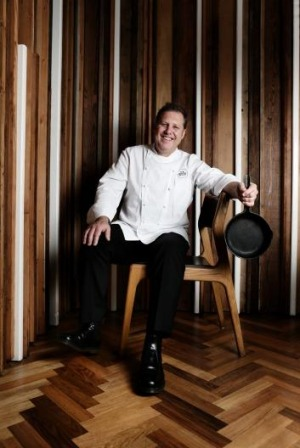 Chef Ross Lusted in his award-winning restaurant The Bridge Room.
