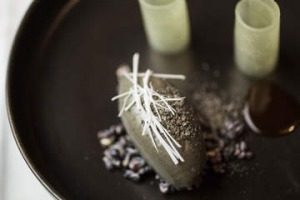 Whipped black sesame at the Bridge Room.