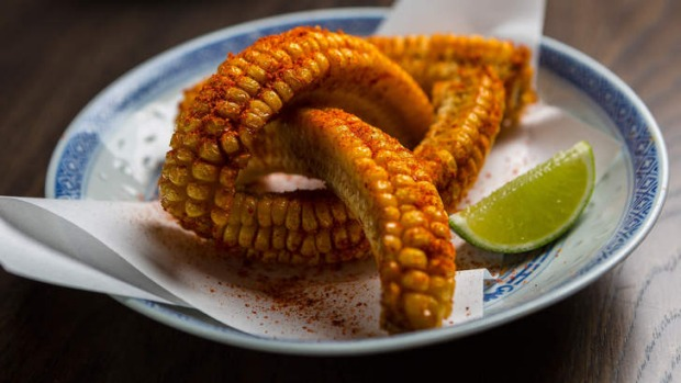 The new south-of-the-border corn snack.