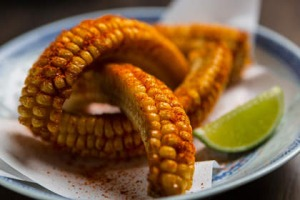 The new sweet corn snack at Lee Ho Fook.
