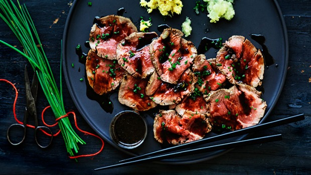 Tender appeal: Beef tataki is simple and healthy.
