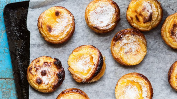 Treat yourself with this cheat's version of dainty and delicious Portuguese tarts.