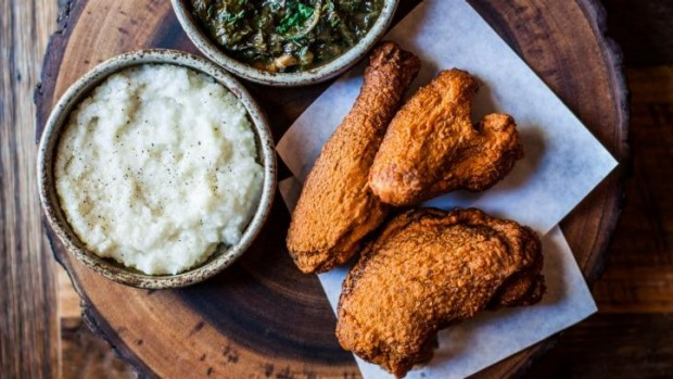 Fried chicken from Husk Nashville.