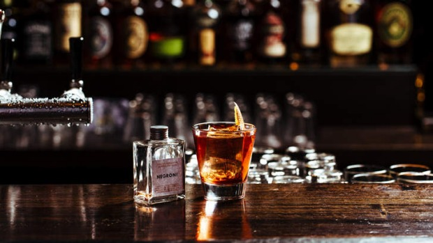 Bottled negroni by The Everleigh Bottling Co.