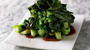Recipe for Chinese greens from Adam Liaw's new cookbook.