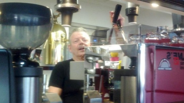 Alan Preston opened Moors Espresso Bar in 1985 in Downtown Sydney and claims he invented the Flat White.