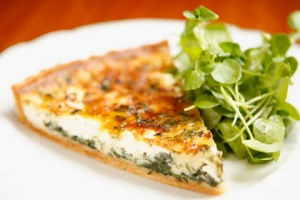 Picture-perfect: Goat's cheese tart at Semi-Permanent.