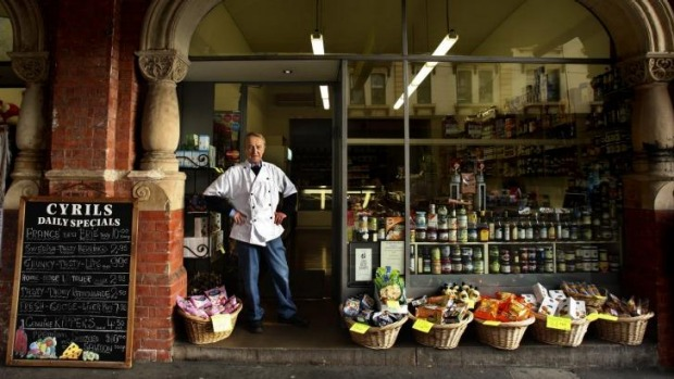 Cyril Vincenc says it's time to close the doors on his deli.