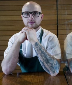 Anthony Hammel, head chef at Pei Modern Melbourne.