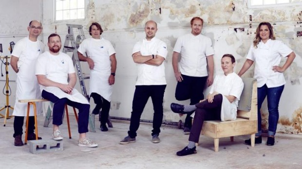 Expect the best: Chefs Eric Koh (ex Mr Wong), Patrick Friesen (Papi Chulo), Christopher Hogarth (Papi Chulo), Sebastien ...
