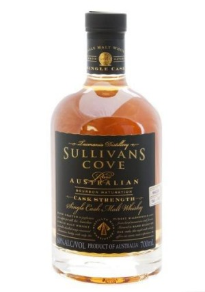 Sullivans Cove Single Malt Whisky.