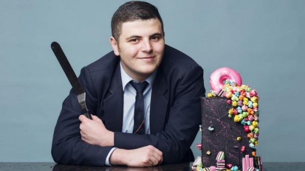 Jonathan Massaad, the 17-year-old cake maker from Greystanes, was bitten by the baking bug at an early age.