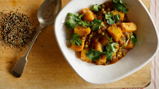 Humble vegetables get a kick from a fragrant spice mix.