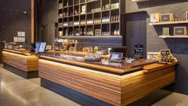 Four Pillars' new distillery and tasting room in Healesville.