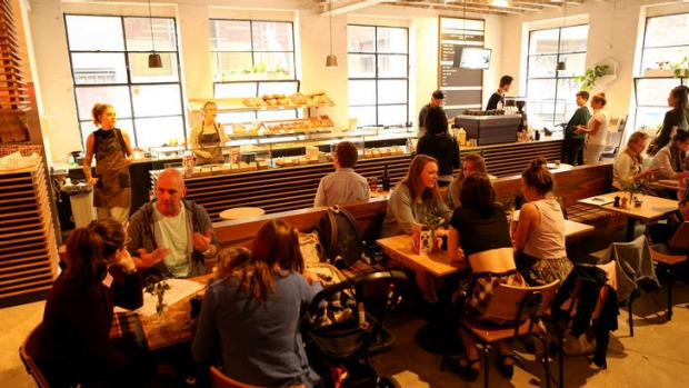 Rustica Canteen is housed in a converted warehouse.