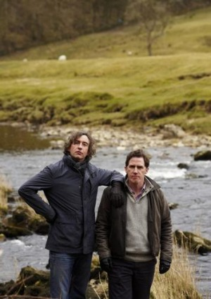 Rob Brydon and Steve Coogan play themselves reviewing British restaurants in The Trip.