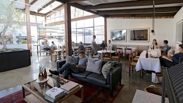 All the comforts: Second Home is an airy, open space.