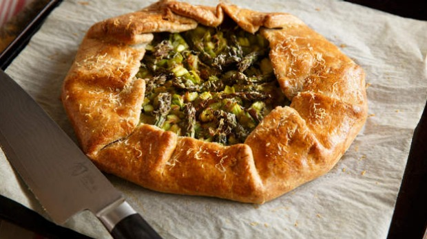 Spear carrier: Celebrate asparagus season with this simple tart.