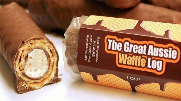 The new 'Great Aussie Waffle Log'