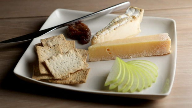 The Ugly Duckling's cheese plate.