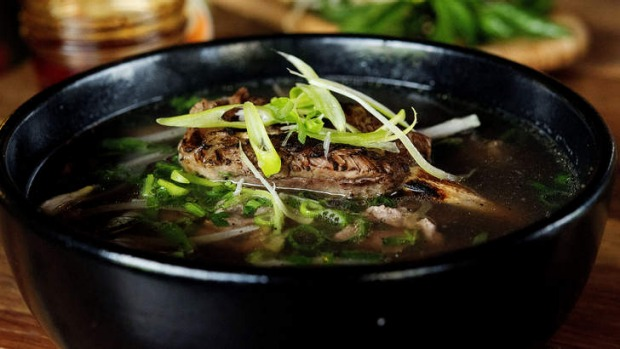 Add the beef pho to your list.