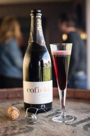 Cofield Wines are known for their sparkling shiraz.