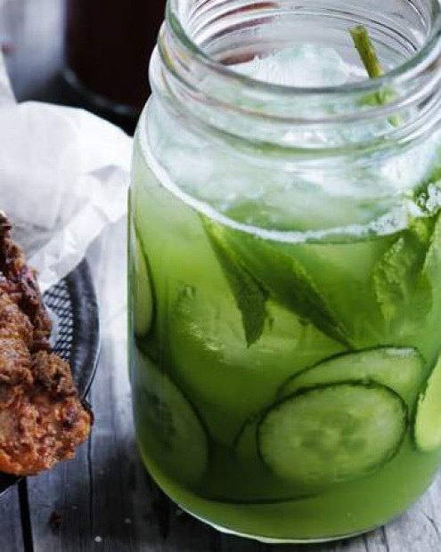 For a hot, hot Christmas: Jill Dupleix's cucumber gin and tonic <a ...