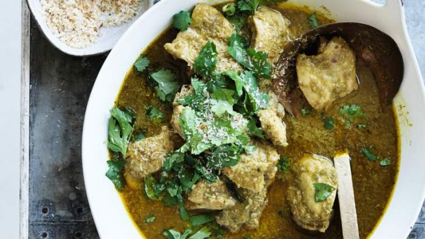 Low heat: This gentle curry is big on fragrance rather than fire.