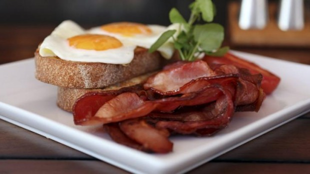 What's the point of getting out of a bed on Sunday morning without bacon?