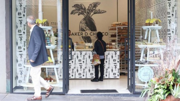 Baker D Chirico's new pop-up in Domain Road, South Yarra.