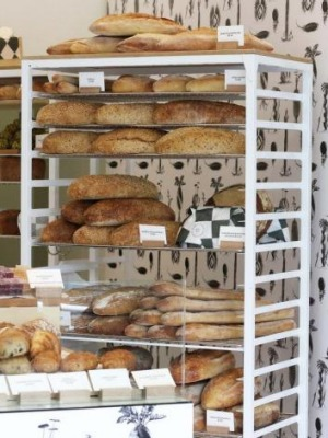 Hand-crafted sourdough bread at Baker D Chirico, South Yarra.