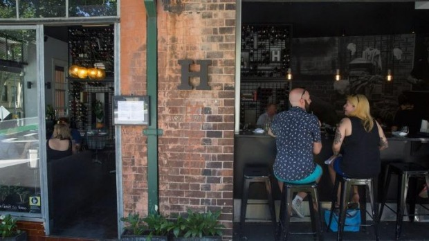 Bar H, in Surry Hills, has wonderful options for vegetarians and omnivores.