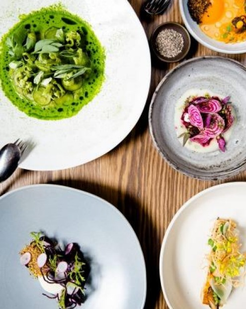 Bentley - which is Yellow's sister restaurant - serves one of the best vegetarian degustations in Sydney.